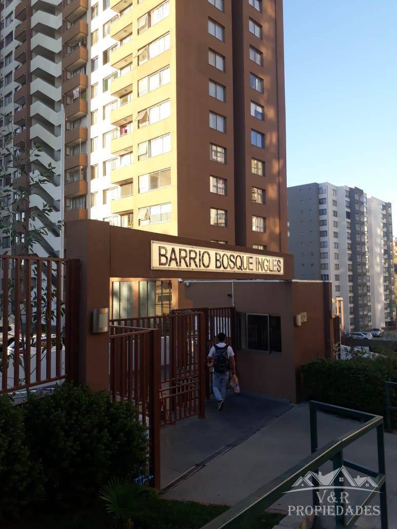Arriendo departamento en sector residencial de Valparaíso